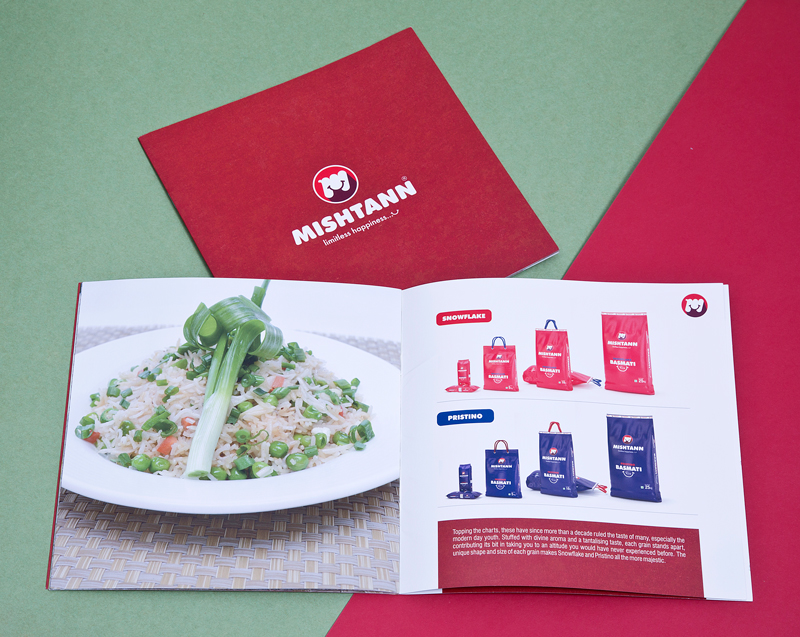 Mishtann Brochure Design
